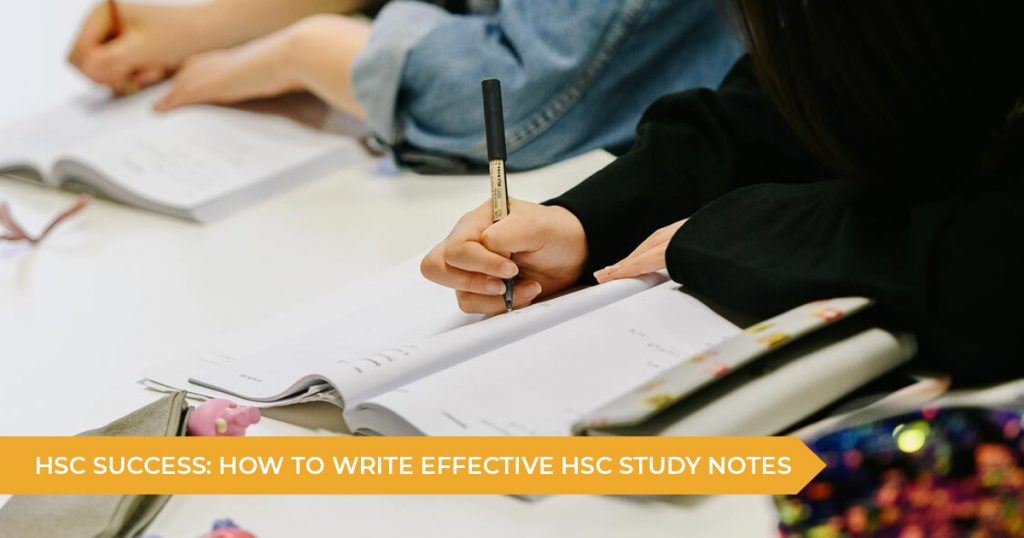 How To Create The Best HSC Study Notes