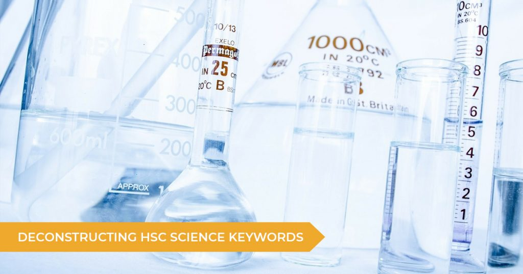 What Do The HSC Science Keywords Mean?