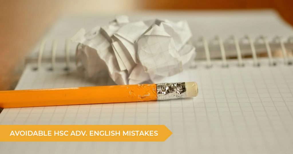 Avoidable HSC Advanced English Essay Mistakes