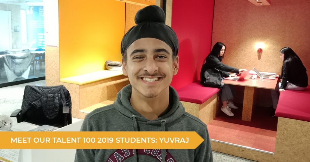 Meet Our Talent 100 Students: Yuvraj (Year 11)