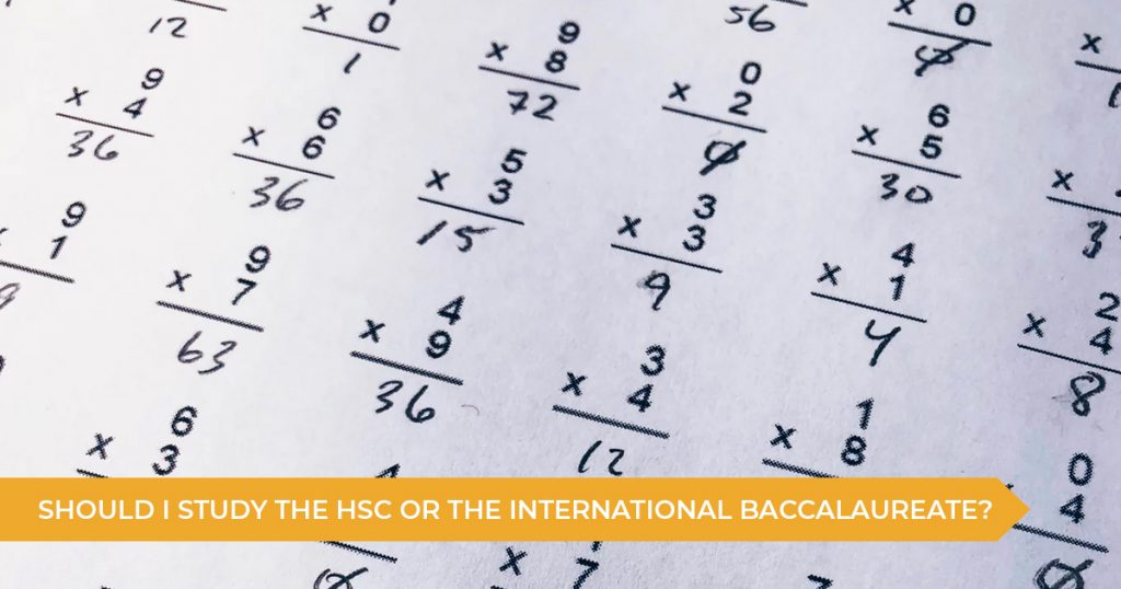 Should I Study The HSC or International Baccalaureate?