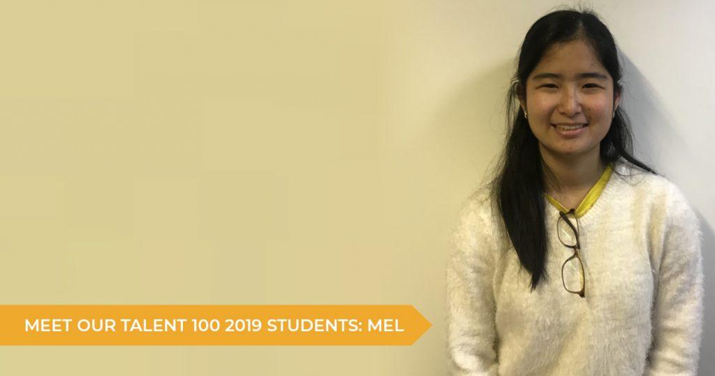 Meet Our Talent 100 Students: Mel Shishido (Year 12) | Talent 100