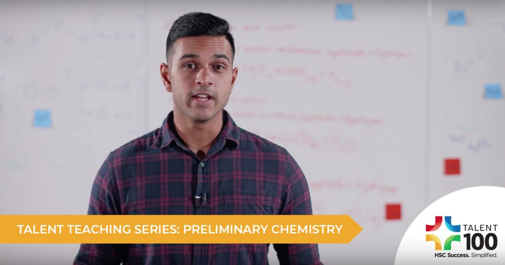 Introducing The Talent Teaching Series: Preliminary Chemistry