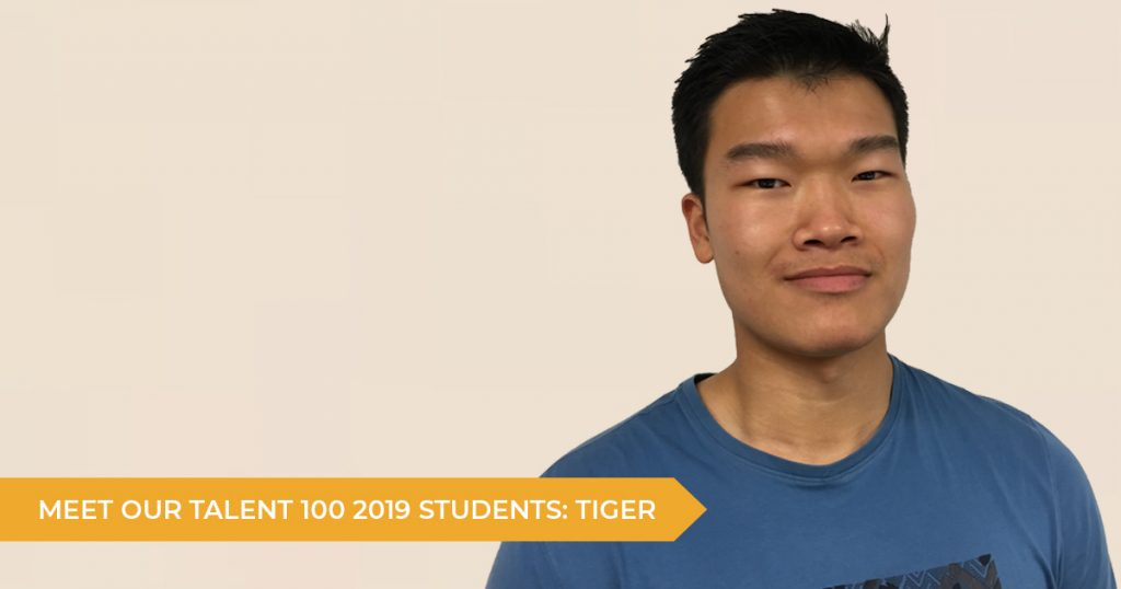 Meet Our Talent 100 Students: Tiger (Year 12)