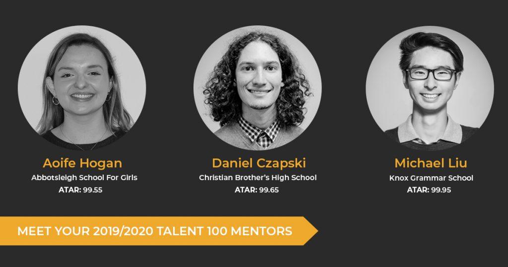 Meet Your 2019/2020 Talent 100 Mentors