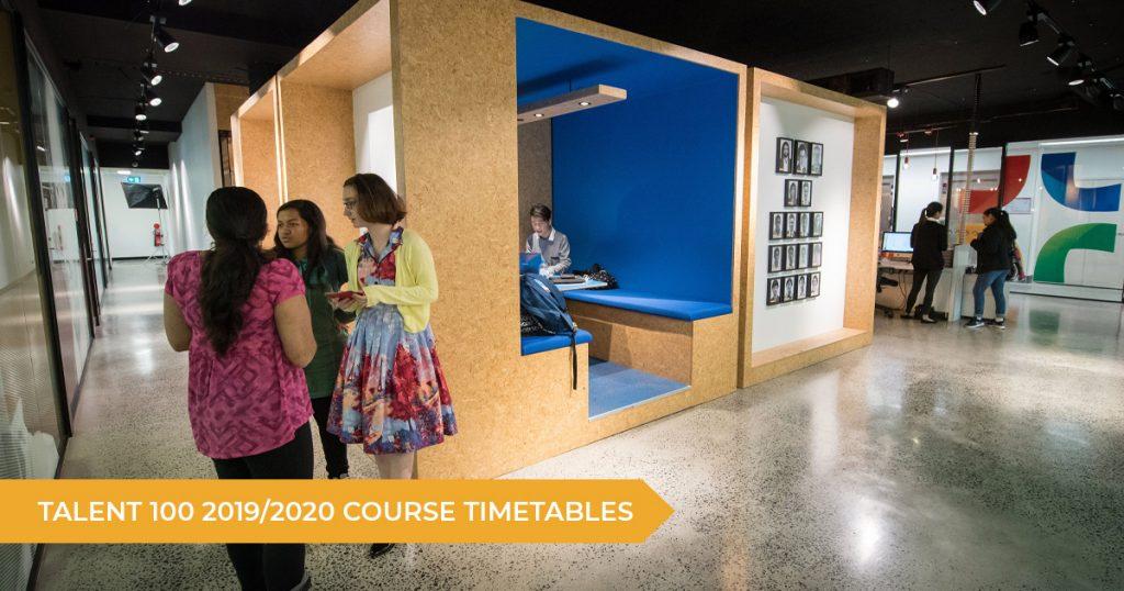 Talent 100 2019/2020 Course Timetables