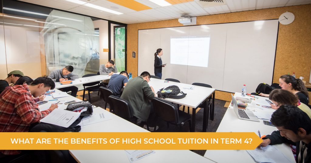 What Are The Benefits Of High School Tutoring In Term 4?