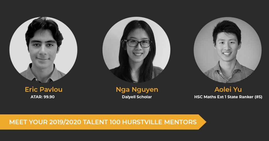 Meet Your 2019/2020 Hurstville Tutors