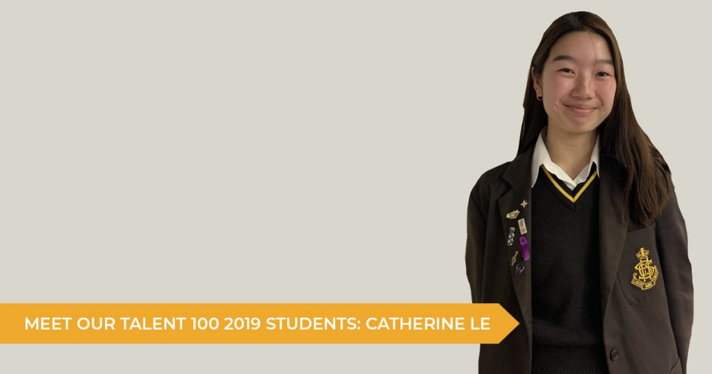 Meet Our Talent 100 Scholarship Students: Jessica