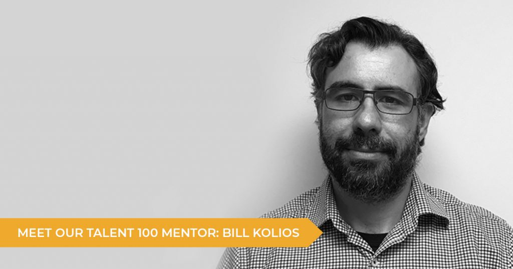 Meet Your Talent 100 Mentor: Bill Kolios