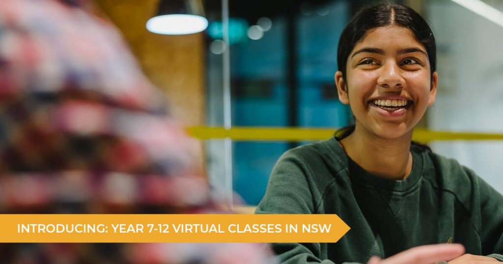 Introducing: Year 7 - 12 Virtual Classes In New South Wales