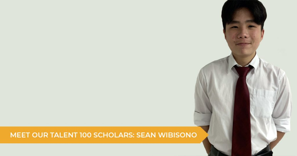 Meet Our Talent 100 Scholarship Students: Sean
