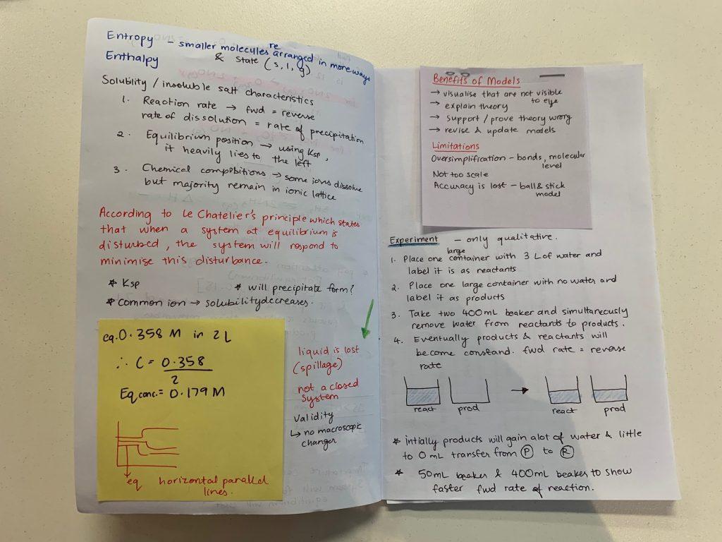 Sakhi's Chemistry Study Bible: 97.50 ATAR Study Hacks