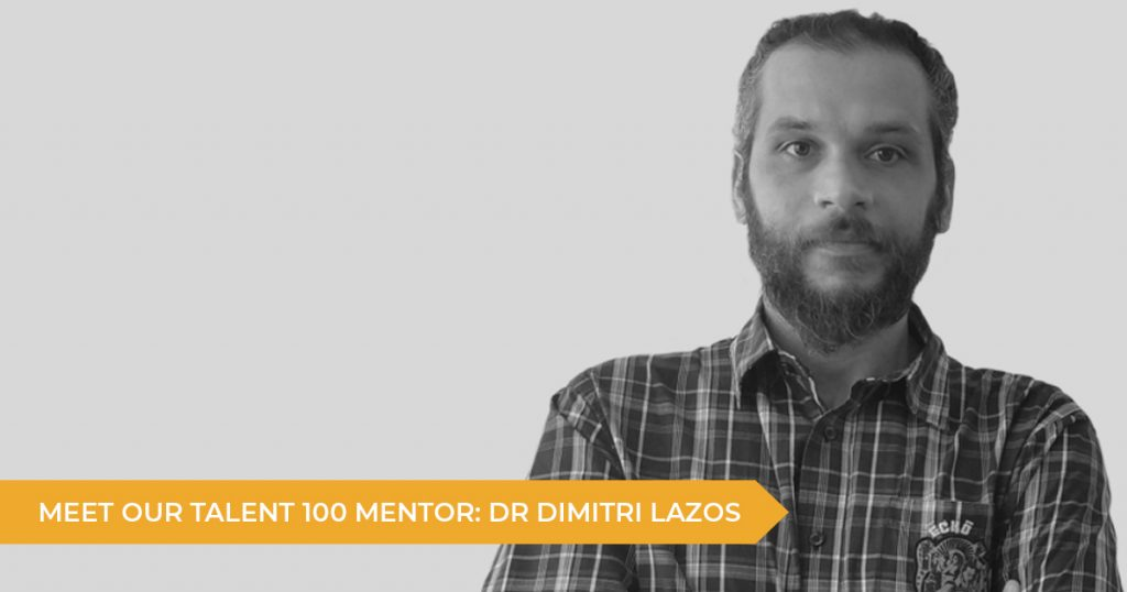 Meet Your Talent 100 Mentor: Dimitri Lazos