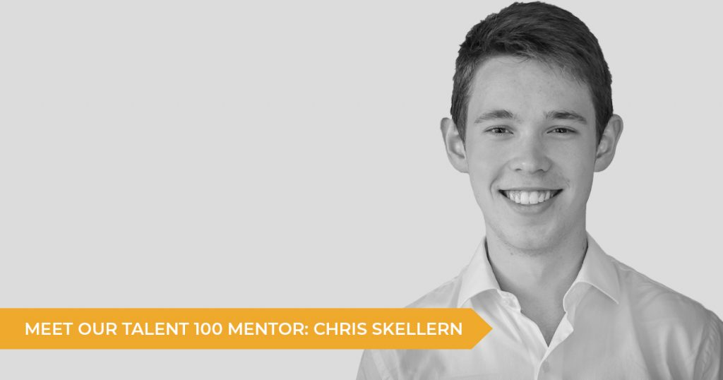 Meet Your Talent 100 Mentor: Chris Skellern