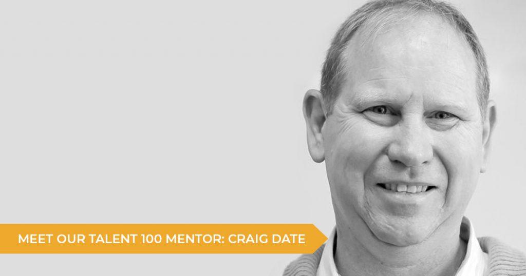 Meet Your Talent 100 Mentor: Craig Date