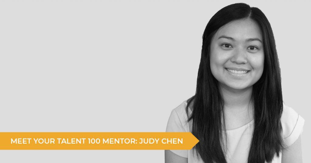 Meet Your Talent 100 Mentor: Judy Chen