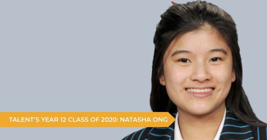 Talent's Year 12 Class of 2020: Natasha Ong (Kincoppal-Rose Bay School)