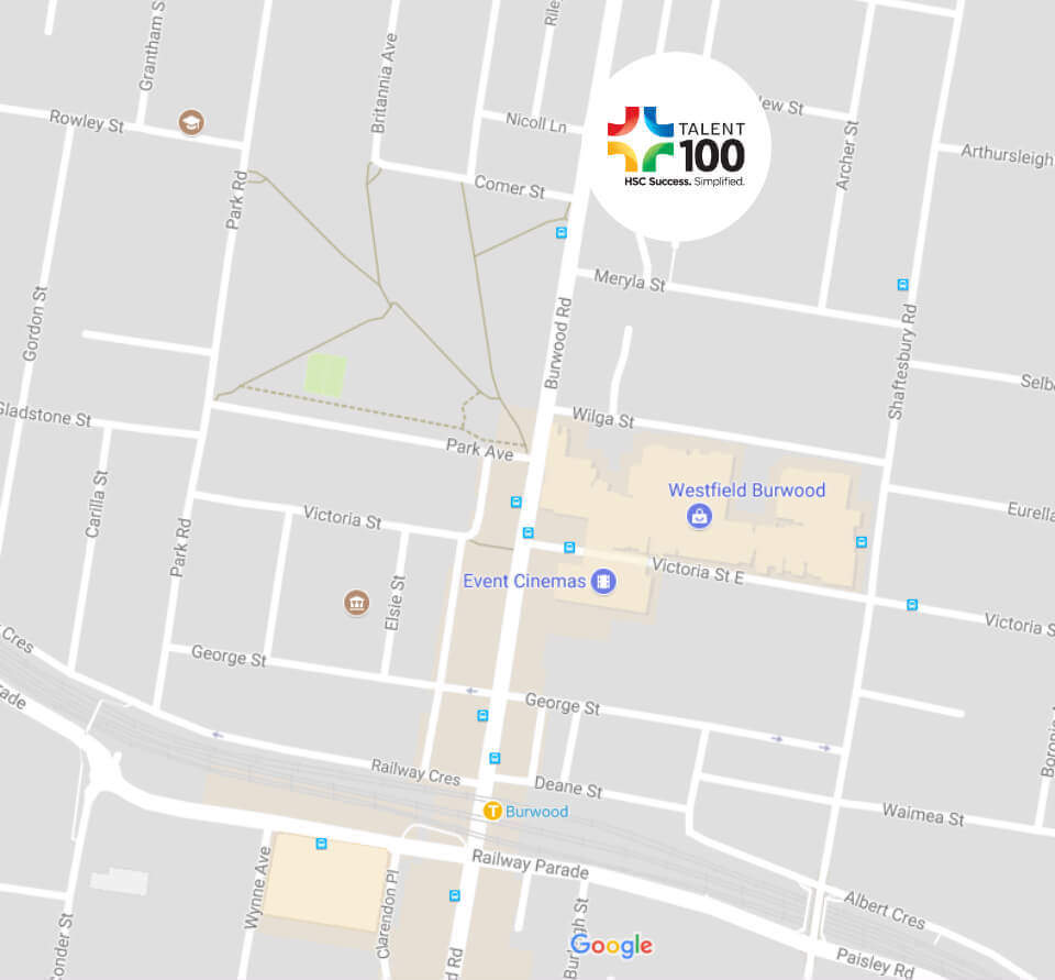 map-burwood
